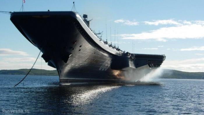 Коптящий «Кузнецов» утёр нос «гордости американского флота» деревянному Zumwalt