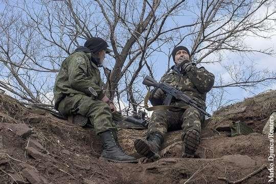 Заблудившиеся украинские разведчики наткнулись на бойцов ДНР