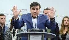 Бывший губернатор Одесской области Михаил Саакашквили