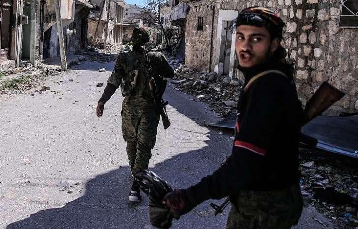 В Алеппо от террористов освобождены пять кварталов и более 2000 зданий