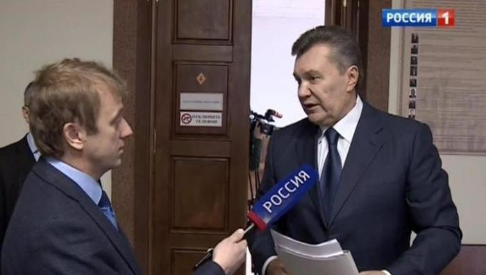 Виктор Янукович сообщил, что наёмные бандиты устроили на него засаду
