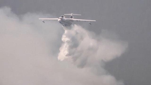 Самолёты МЧС России потушили евреям лесные пожары в районе Хайфы