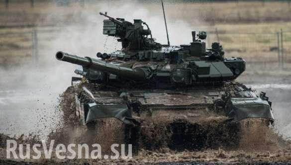 Танк Т-90 в Алеппо выдержал попадание американской ракеты TOW | Русская весна