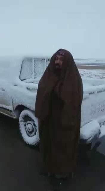 В Саудовской Аравии выпал снег: глобальное потепление атакует