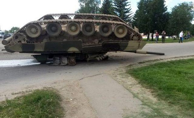 «Железный капут» по-украински или езда задом наперёд