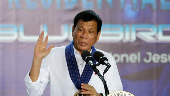 На Филиппинах произошло покушение на Президента страны Родриго Дутерте