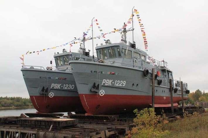13. «Завод Нижегородский теплоход» передал 2 катера проекта 23040 ВМФ РФ политика, факты
