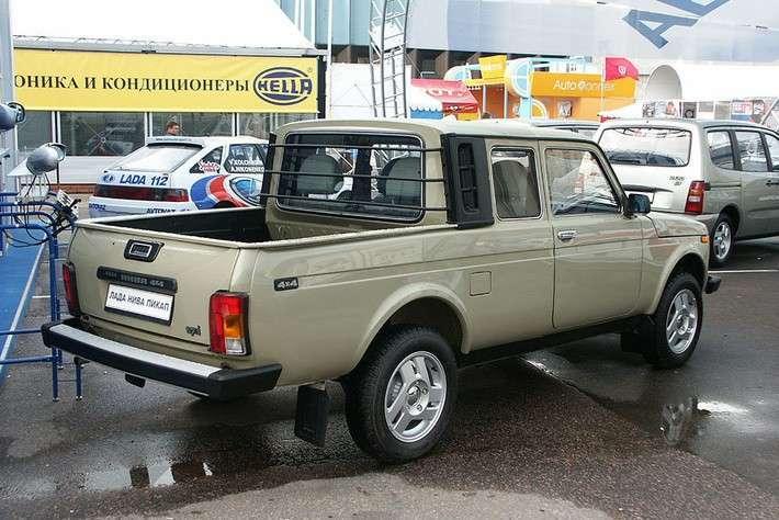 21. Возобновилось производство пикапов на базе внедорожника Lada 4×4 политика, факты