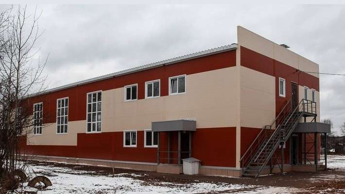 2. Для школы в посёлке Усть-Шоноша Архангельской области построен спортивный корпус политика, факты
