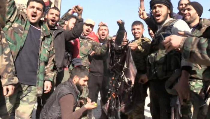 Бои в Алеппо. Репортаж Евгения Поддубного с передовой