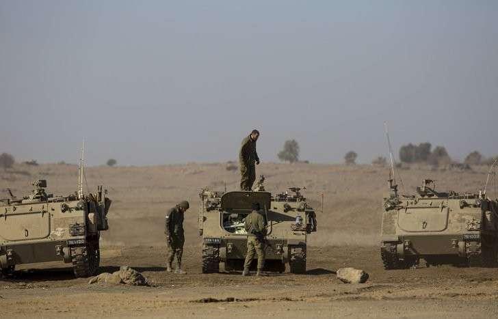 Бандитский Израиль нанёс авиаудар по позициям сирийской Армии