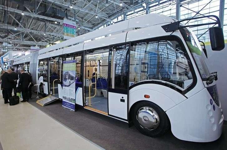 Модели будущего общественного транспорта на выставке «ЭкспоСитиТранс-2016» в Москве