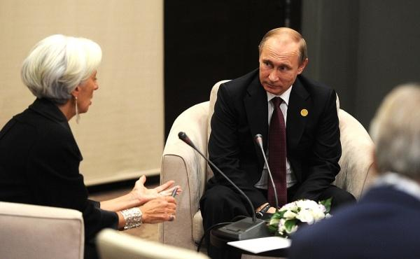 Кристин Лагард призналась, что МВФ намеренно разваливал экономику России!