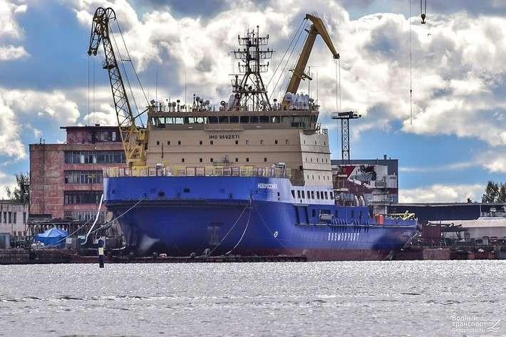 Выборгский СЗ сдал третий в серии ледокол проекта 21900М «Новороссийск»