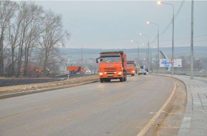 Фотообзор дорожного строительства в России в последние годы