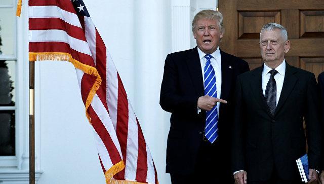 Главой Пентагона при Трампе станет «Бешеный пес» Мэттис