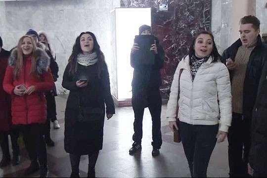 На Украине флешмоб по песням из советских фильмов назвали происками ФСБ