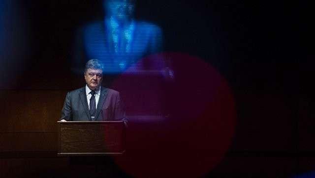 Президент Украины Петр Порошенко во время визита в Вашингтон (США). Архивное фото