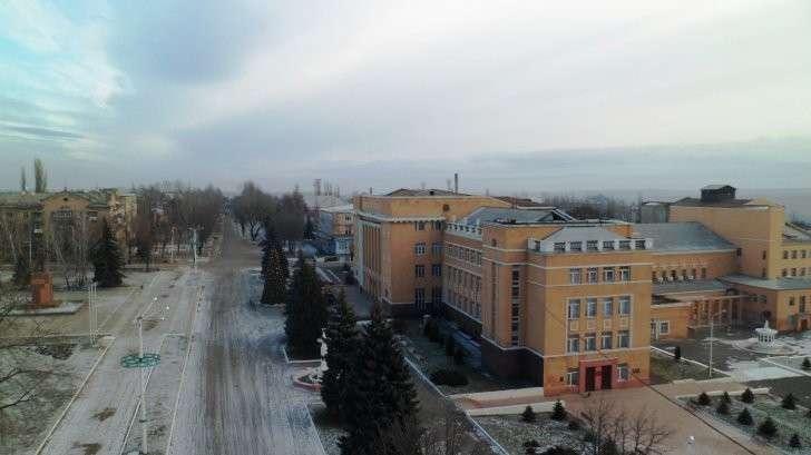 Прогулка по г. Стаханову, Луганской области (ЛНР), Донбасс