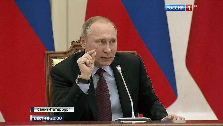 Владимир Путин очень заинтересовался, кому мешает сказка Пушкина