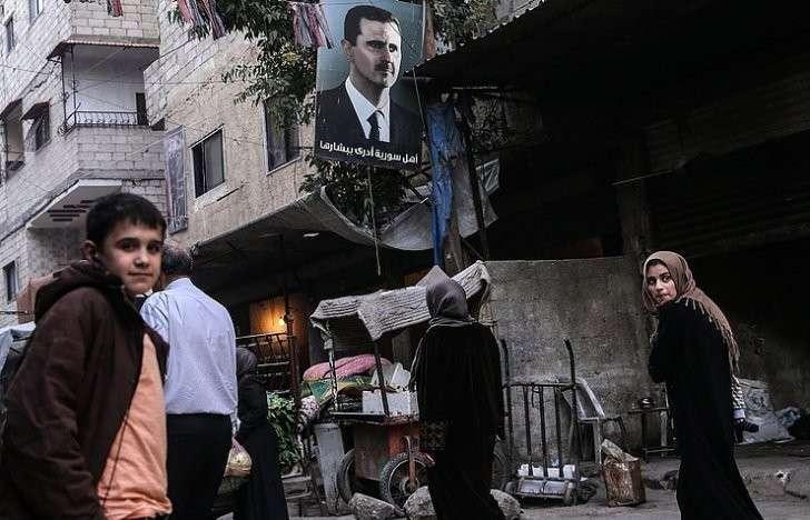 Террористический Израиль нагло требует ухода Башара Асада из Сирии