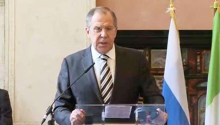 Сергей Лавров подчеркнул, что Россия контактирует со всеми, пока ООН буксует