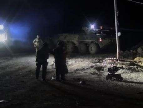 Боевой робот участвовал в ликвидации боевиков в Дагестане