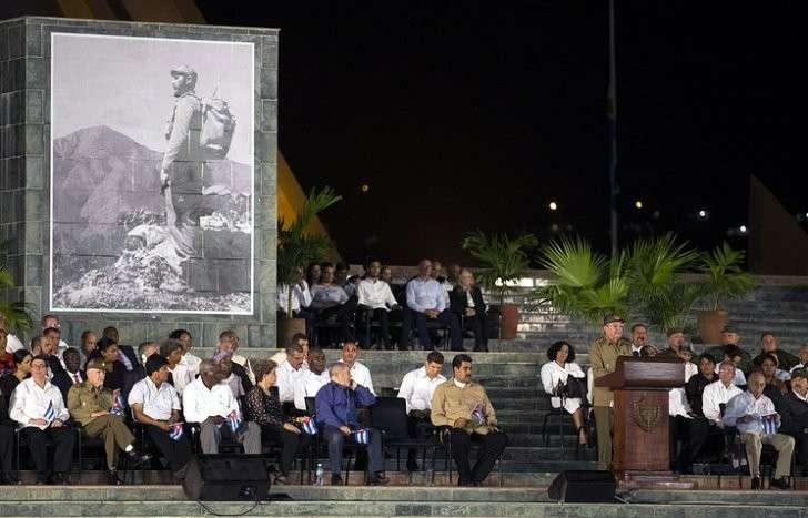 Прах Фиделя Кастро захоронен вСантьяго-де-Куба