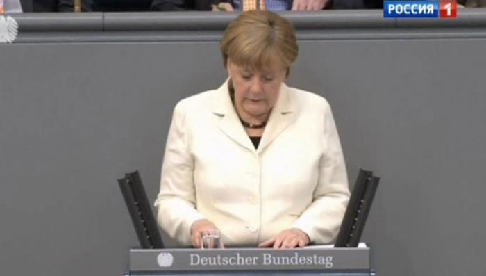 Тётушка Меркель примеряется к неблагодарной роли антироссийского лидера Запада