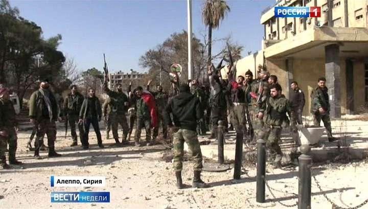 Американские наёмники в Алеппо деморализованы и отступают