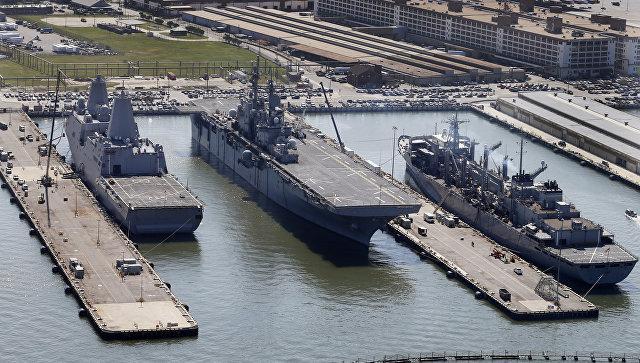 Десантные корабли США у берегов Сирии буду эвакуировать терпящих поражение наёмников?
