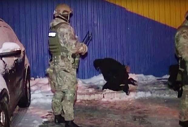 Задержание банды после перестрелки в селе Княжичи