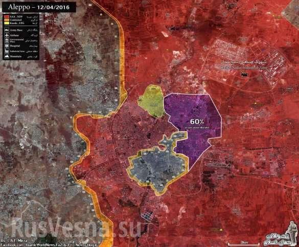 Алеппо: отчаянное контрнаступление банд закончилось кровавым провалом | Русская весна