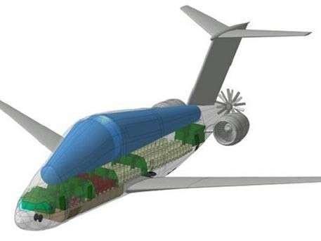 7. В ЦАГИ разработан проект авиалайнера на криогенном топливе  Сделано у нас, политика, факты