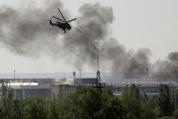 Армия Хунты потеряла в Донбассе 14 самолётов и вертолётов