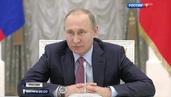 Владимир Путин: жизнь требует корректировку правовой системы РФ