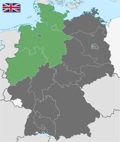 Как жилось немцам в Британской оккупационной зоне