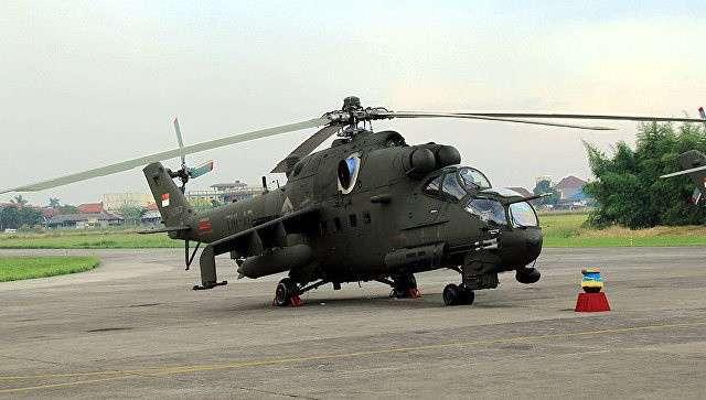224. «Вертолеты России» заключили контракт на капремонт Ми-35П ВВС Индонезии Сделано у нас, политика, факты