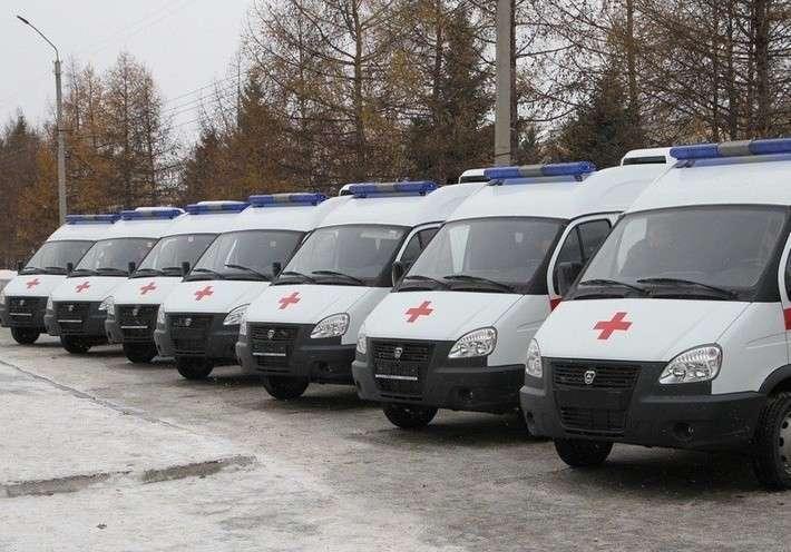 2. Алтайский край получил 17 машин скорой помощи Сделано у нас, политика, факты