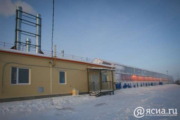 В Якутии открыт единственный в мире тепличный комплекс построенный на вечной мерзлоте