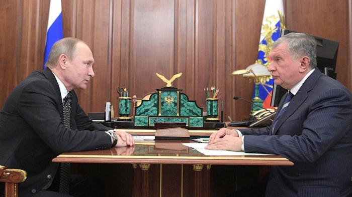Игорь Сечин доложил Владимиру Путину о продаже пакета акций «Роснефти»