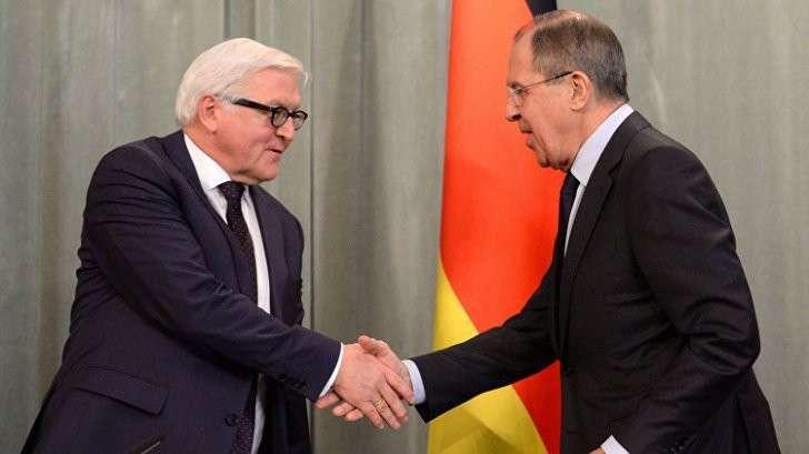 Лавров Керри и Штайнмайер обсудили усилия по прекращению огня в Алеппо