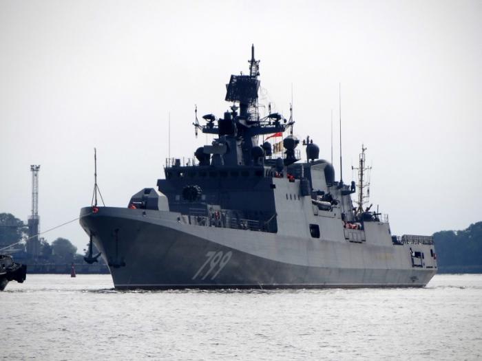 На Балтике успешно испытали сторожевик «Адмирал Макаров»
