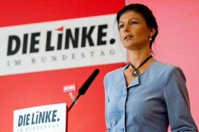 В Германии устроили травлю Сары Вагенкнехт за интервью RT и высказывания о Меркель как марионетке США
