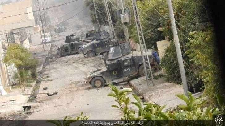 Американцы перенаправили своих террористов из-под Алеппо в сторону Пальмиры