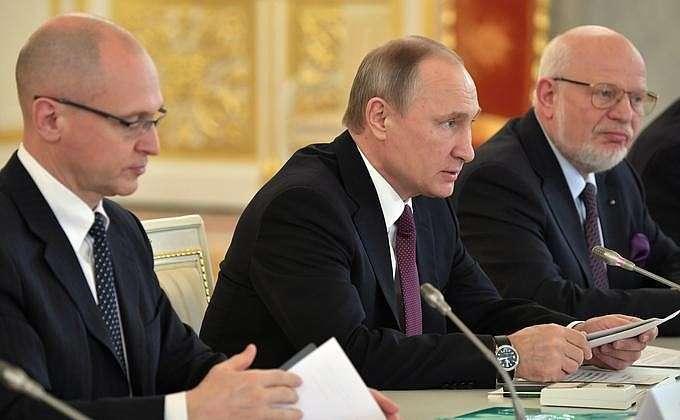 Президент Путин провёл в Кремле заседание Совета по развитию гражданского общества и правам человека