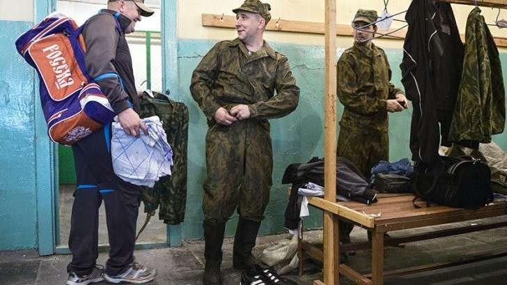 Военнослужащие запаса, призванные для прохождения военных сборов