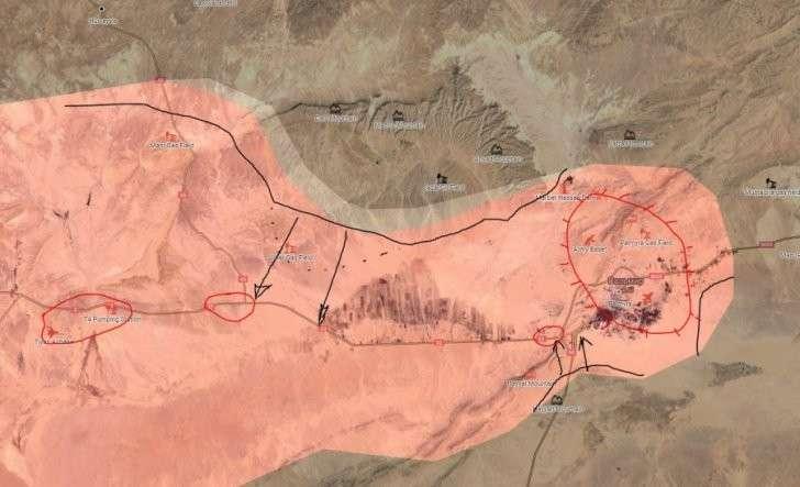 Пальмира в кольце врагов: американские наёмники наносят ответный удар в Сирии