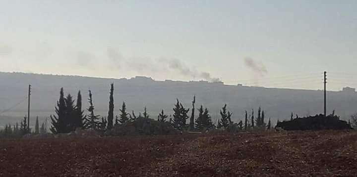 Турецкая армия вместе с боевиками начала штурм Аль-Баба в Сирии