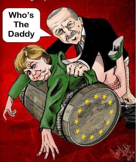 «Женщины Германии против канцлера Меркель» - вот это было бы шоу!